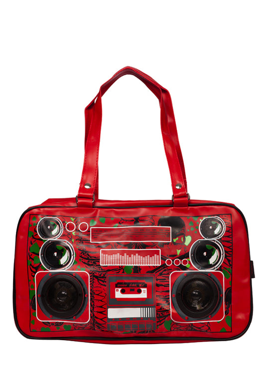 Jawbreaker Clothing - Boombox Zombie Red Stereo Bag - Egg n Chips London