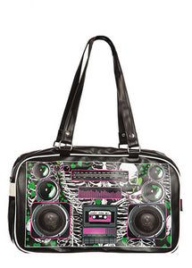 Jawbreaker Clothing - Boombox Zombie Black Stereo Bag - Egg n Chips London