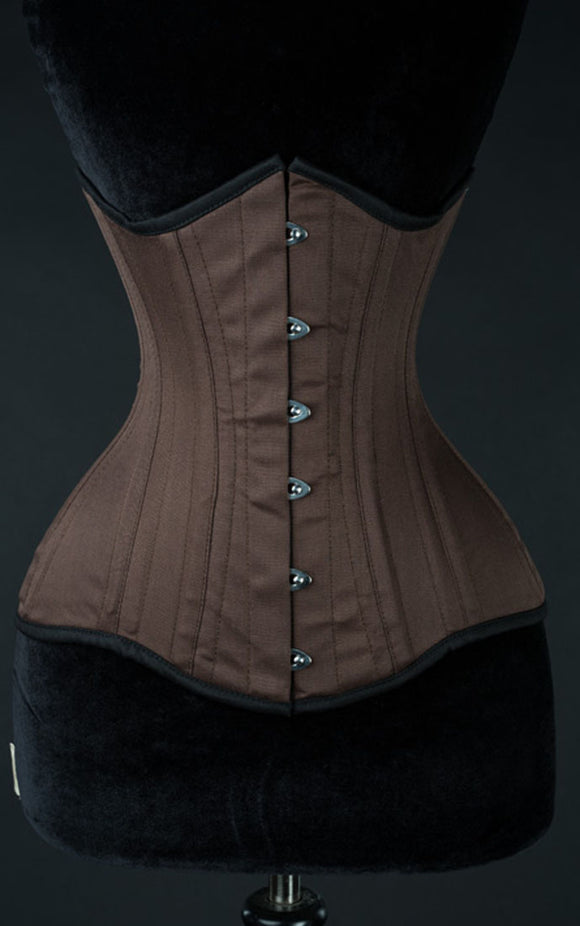 Dracula Clothing - Steampunk Cotton Extreme Waist Corset