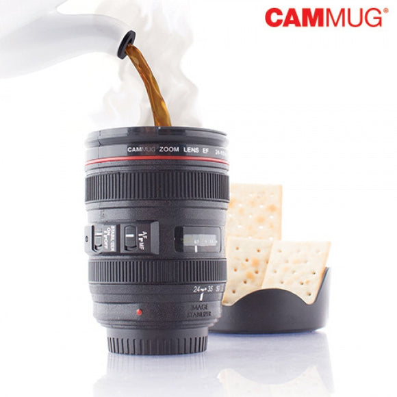 Egg n Chips London - Cammug Camera Lens Mug - Egg n Chips London