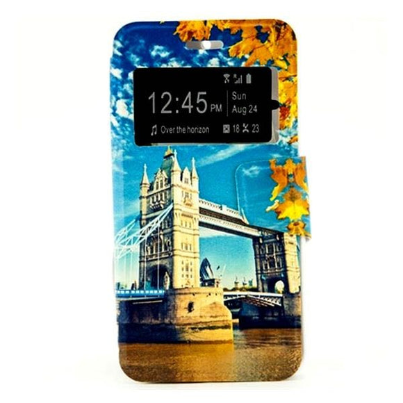 CASE HUAWEI GR3/P8 LITE SMART REF. 197090 PU BRIDGE