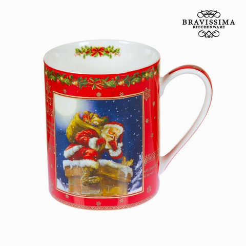 Bravissima Kitchen - Christmas Red Porcelain Mug