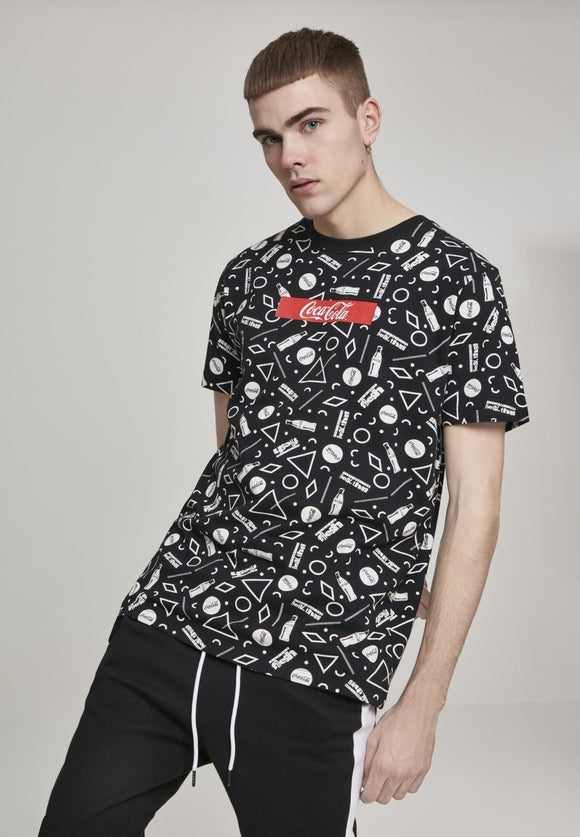 Coca Cola AOP Box Logo T-Shirt