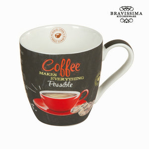 Bravissima Kitchen - Making Everything Possible Coffee Mug - Egg n Chips London