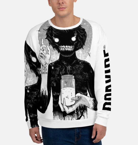 Creep Unisex Hand Sewn All Over Print Sweatshirt