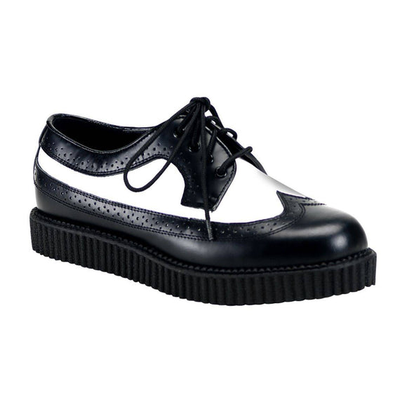 Demonia - Men's Rockabilly Punk Oxford Creeper Shoes