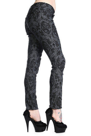 Banned Apparel - Cross Cameo Trousers