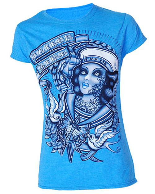 Darkside Clothing - Sailor Girl T-Shirt