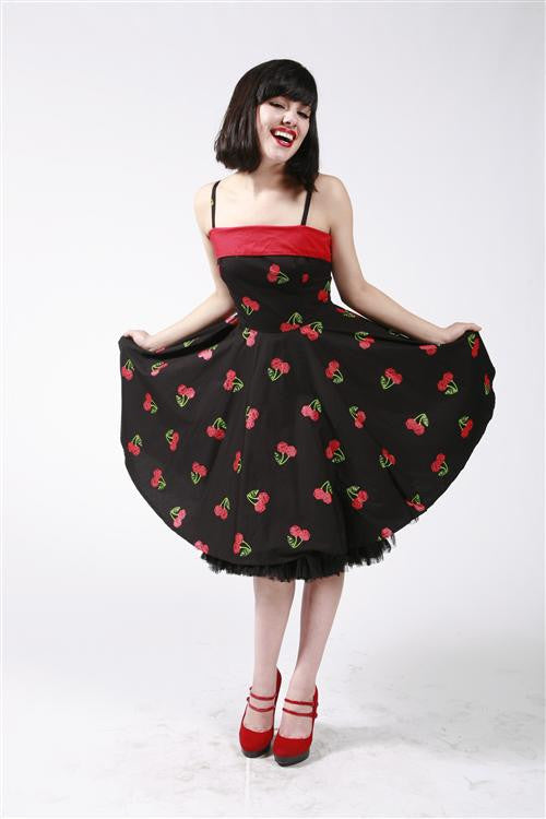 Dead Threads - Cherry Print Strappy Dress