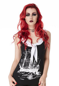 Jawbreaker Clothing - Doom Ship Nautical Top - Egg n Chips London