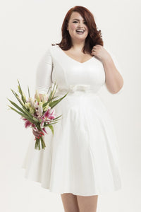 Voodoo Vixen - Dorothy Bridal Plus Size Dress