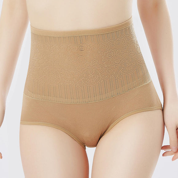 High Waist Hip Up Tummy Slimming Shaping Panties