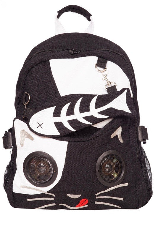 Jawbreaker Clothing - Felix The Cat Stereo Backpack - Egg n Chips London