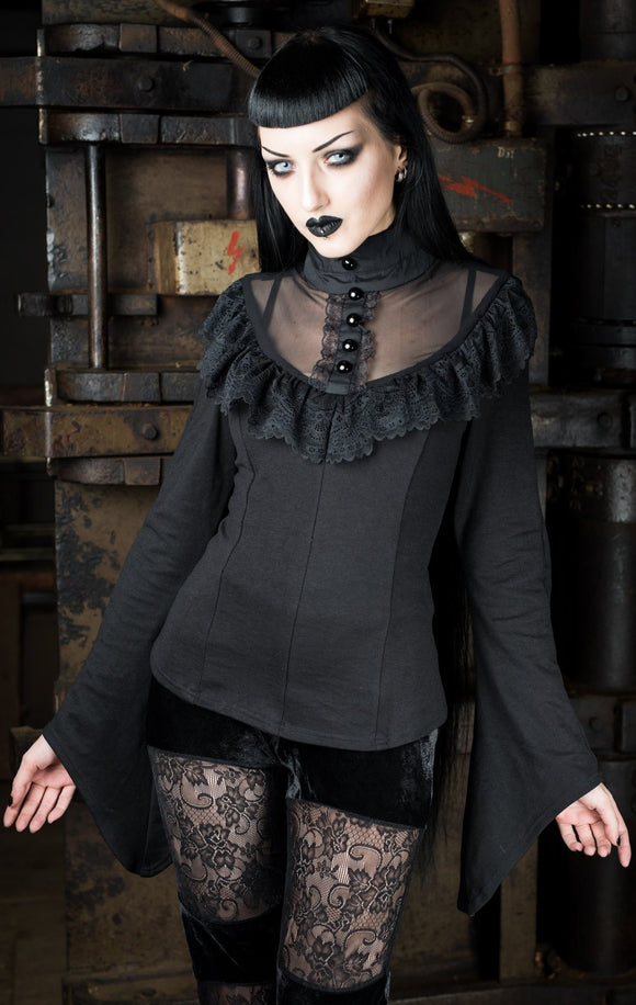 Dracula Clothing - Gothic Edwardian Steampunk Top