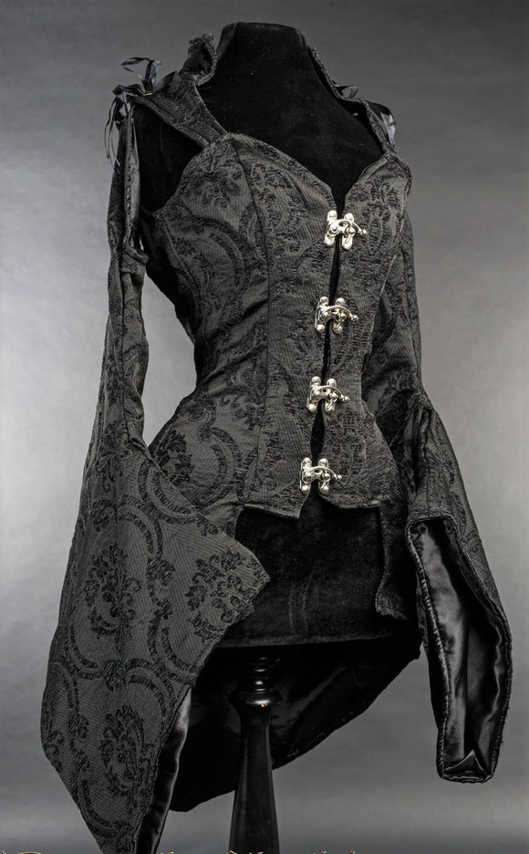 Dracula Clothing - Gothic Steampunk Winter Is Not Coming Black Top
