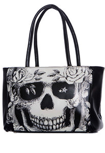 Jawbreaker Clothing - Grinning Skull Handbag - Egg n Chips London