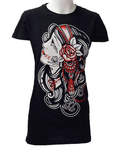 Darkside Clothing - Gypsy Girl T-Shirt