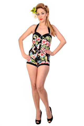 Banned Apparel - Hawaii Playsuit