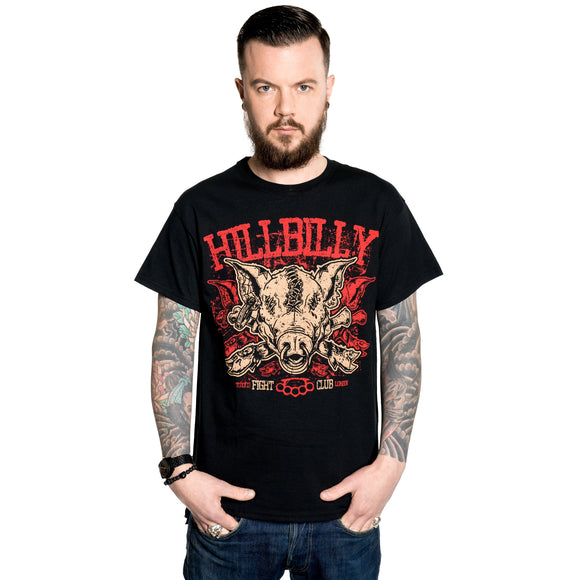 Toxico Clothing - Hillbilly Pig Tee - Egg n Chips London