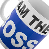 Egg n Chips London - I Am The Boss XL Mug - Egg n Chips London