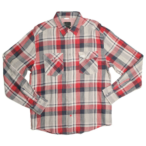 Iron Fist Clothing - Men's Rolled Up Check Shirt
