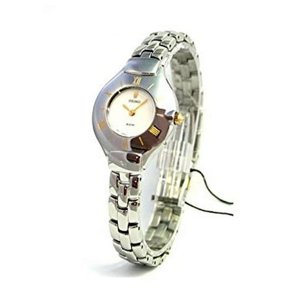 Seiko SFQ842P1 Ladies Quartz Bracelet Watch - Egg n Chips London