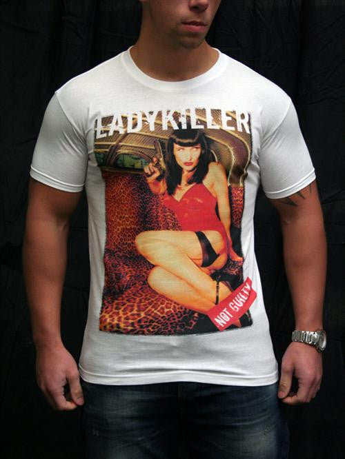 Not Guilty - Lady Killer T-Shirt (Mens) - Egg n Chips London
