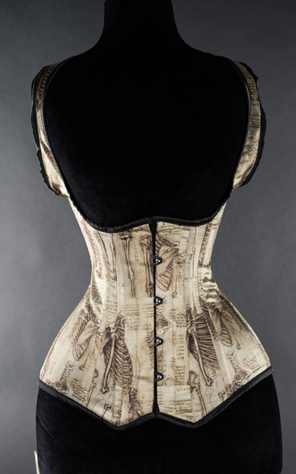 Dracula Clothing - Steampunk Leonardo Shoulder Corset