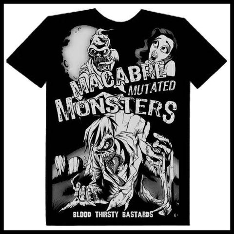 Zombie You Monsters - Macabre Mutated Monsters T-Shirt
