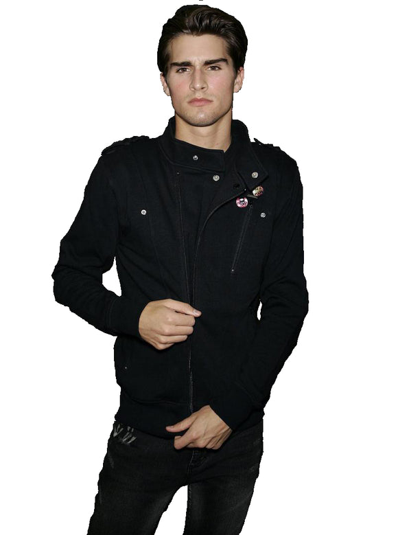 Iron Fist Clothing - My Way Sid Vicious Biker Jacket Fleece - Egg n Chips London