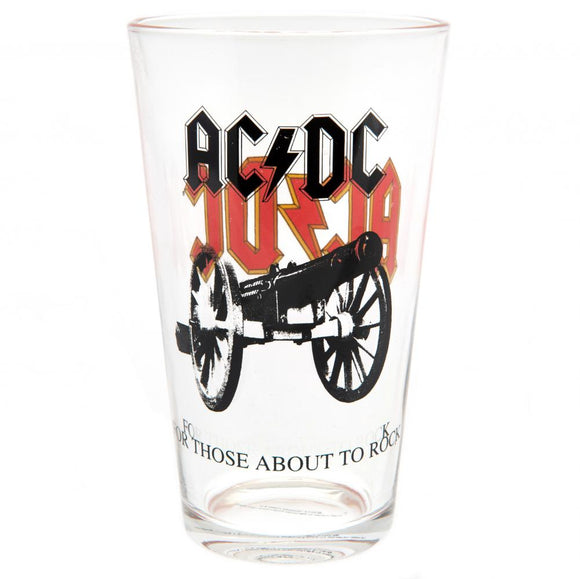 AC/DC Large Glass