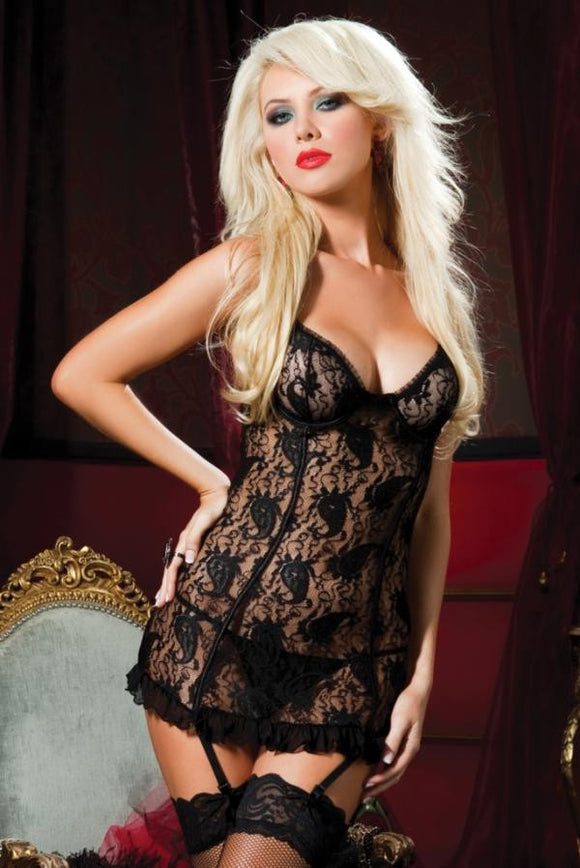 Seven 'til Midnight - Paisley Pleasure Chemise - Egg n Chips London