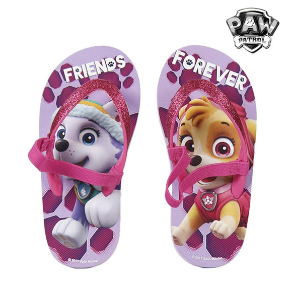 Paw Patrol Friends Forever Flip Flops - Egg n Chips London