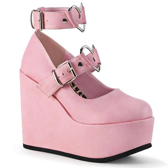Demonia - Women's Mary Jane Wedge Poison Platform Shoes