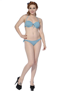 Banned Apparel - Polka Dot Retro Bikini Swimsuit - Egg n Chips London