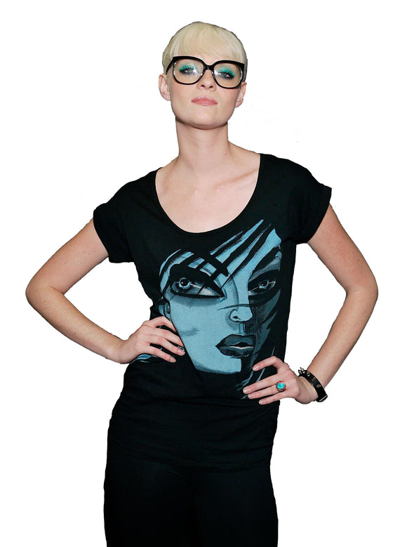 Iron Fist Clothing - Private Eye Zipper Back Fashion Tee