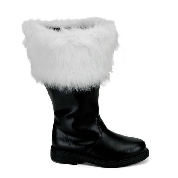 Funtasma - Women's Wide Calf Santa Boots with Fur Cuff