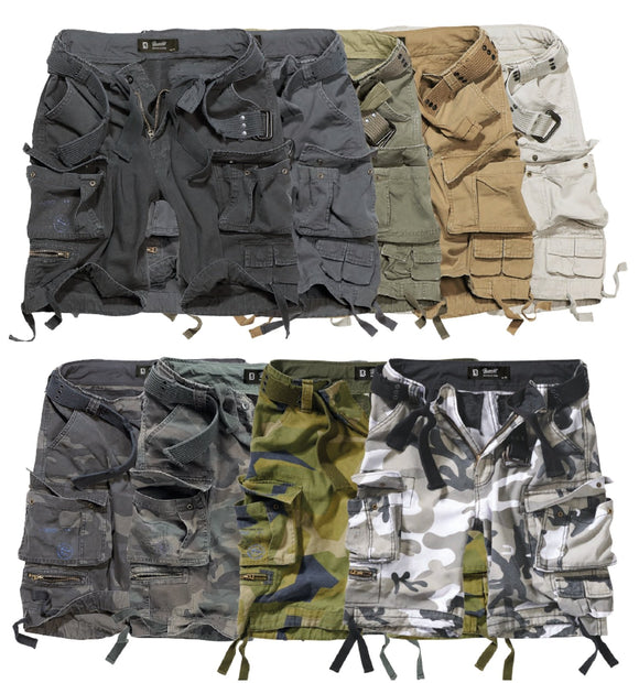 Savage Vintage Cargo Shorts (9 Colors | Sizes S - 7XL)