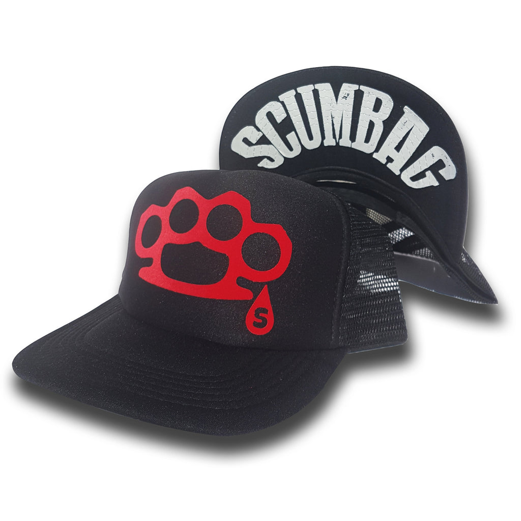 Toxico Clothing - Scumbag Duster Trucker Hat (Black)