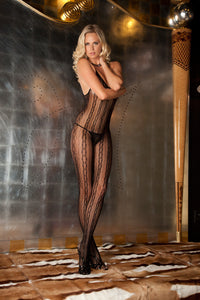 René Rofé Lingerie - Seductive Lace Bodystocking - Egg n Chips London