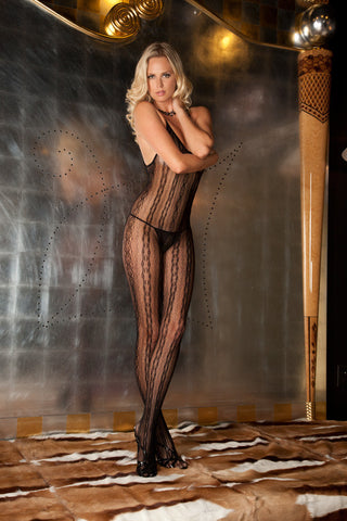René Rofé Lingerie - Seductive Lace Bodystocking