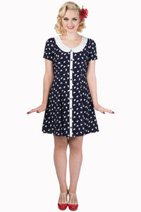 Banned Apparel - Set Sail Dress - Egg n Chips London