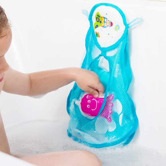 Egg n Chips London - Spaceship Bath Toy Holder (4 Pieces) - Egg n Chips London