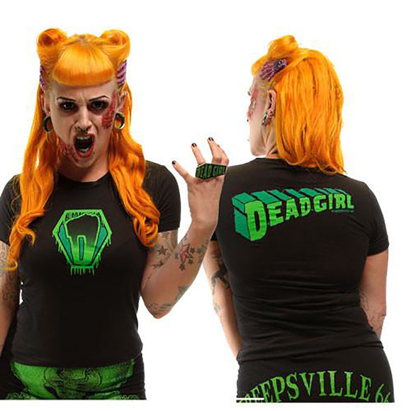 Kreepsville 666 - Super Dead Girl T-Shirt - Egg n Chips London