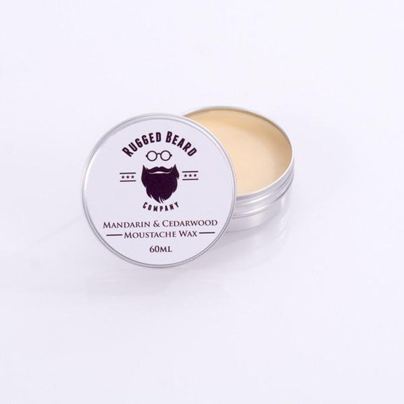 Mandarin & Cedarwood firm Moustache & Beard Wax