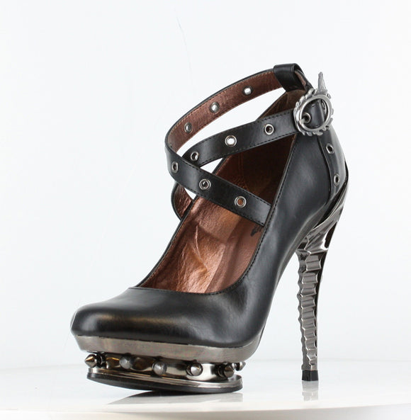 Hades Shoes - Triton Stiletto Platforms - Egg n Chips London
