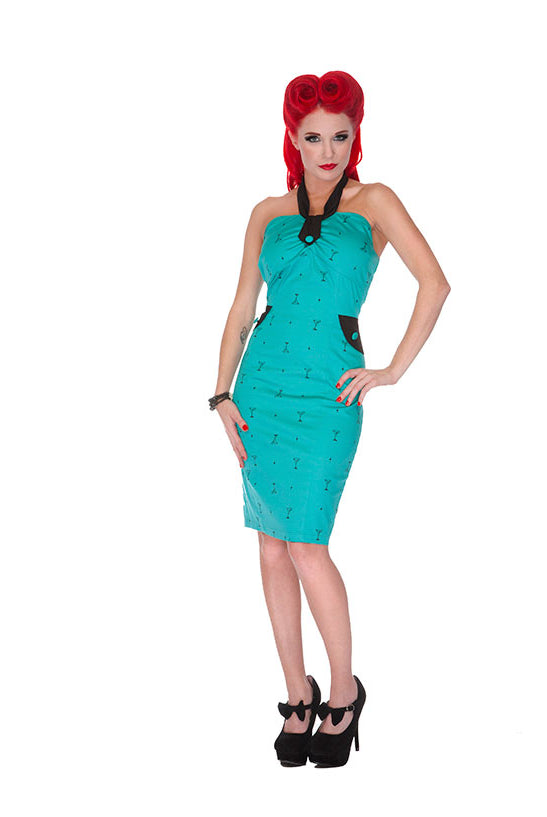 Voodoo Vixen - Martini Pencil Dress