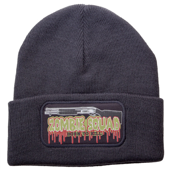 Toxico Clothing - Unisex Charcoal Zombie Kill Beanie Beanie Hat - Egg n Chips London