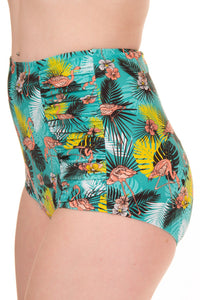 Banned Apparel - Wanderlust Highwaisted Bikini Bottoms - Egg n Chips London