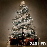 White Christmas Lights (240 LED) - Egg n Chips London